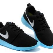 nike roshe run chaussures noir