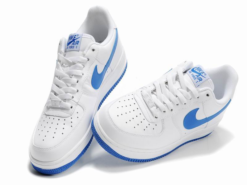 Homme Nike Air Force One Bleu