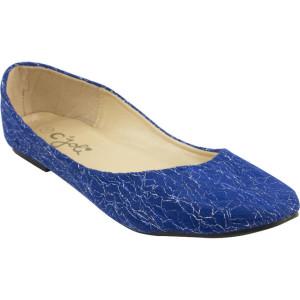 Ballerines - Bleu (1)