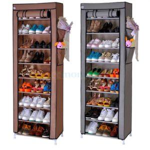 Meuble de rangement chaussure (12 étagères)