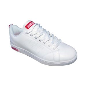 adidas neo blanche rouge 5