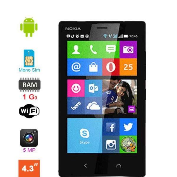 microsoft lumia 435 ecran 4 pouces 8 go. Black Bedroom Furniture Sets. Home Design Ideas