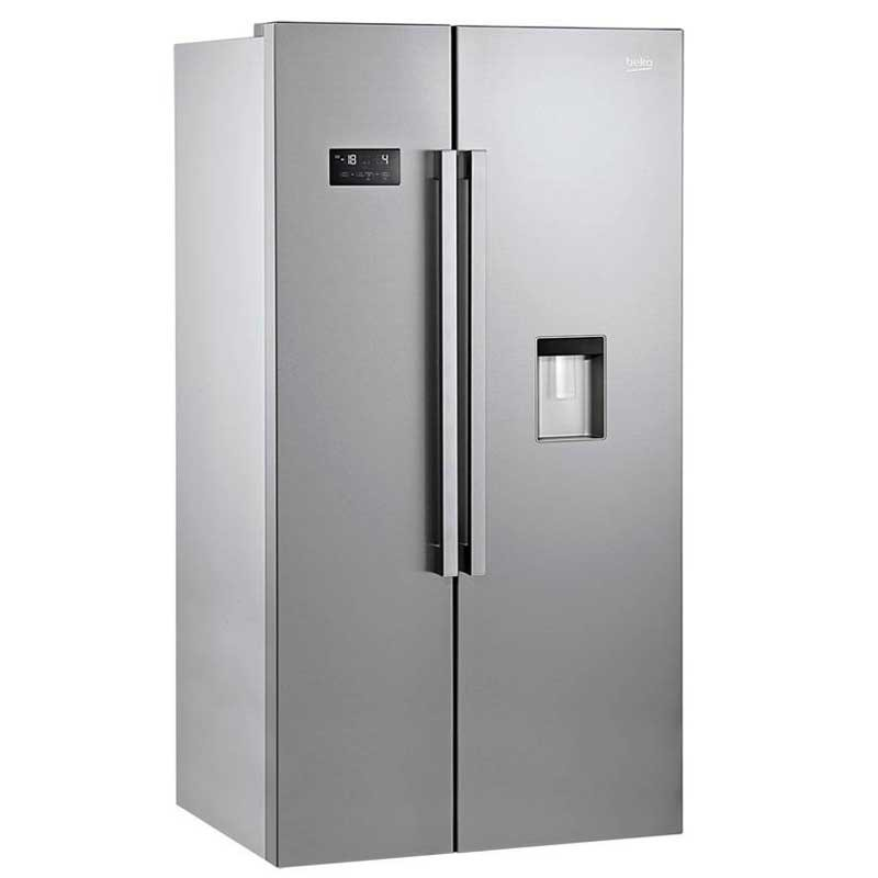 r frig rateur beko side by side 680 litres avec distributeur d 39 eau. Black Bedroom Furniture Sets. Home Design Ideas