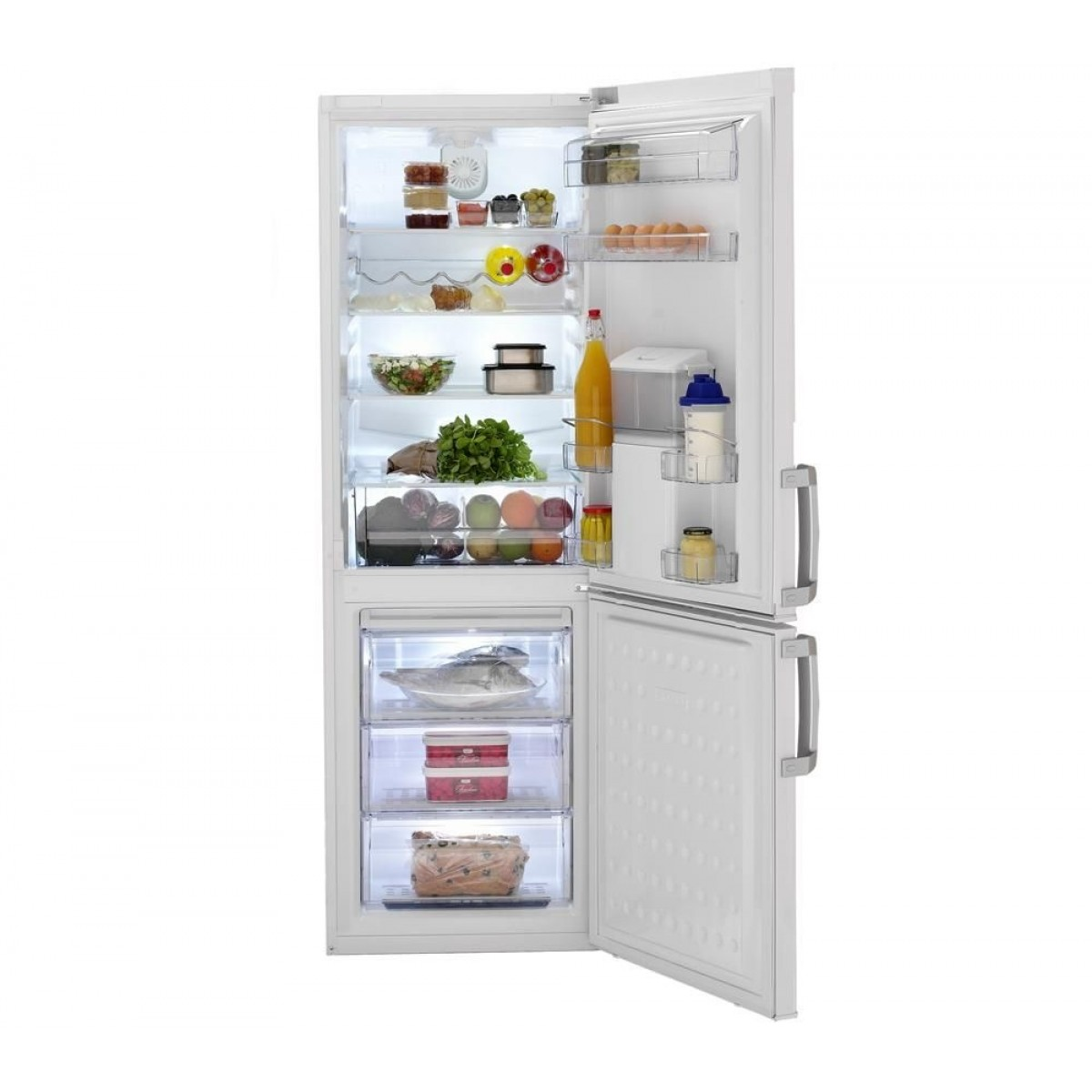 refrigerateur combin beko de 250 litres avec distributeur. Black Bedroom Furniture Sets. Home Design Ideas