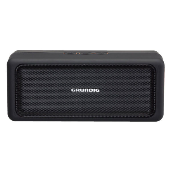 enceinte bluetooth grundig gsb 120 orange pas cher. Black Bedroom Furniture Sets. Home Design Ideas