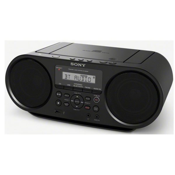 radios et lecteurs cd portables sony boombox cd avec. Black Bedroom Furniture Sets. Home Design Ideas