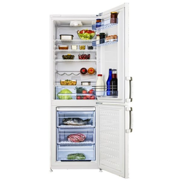 refrigerateur combin beko 345 litres 3 tiroirs pas cher cs 137010. Black Bedroom Furniture Sets. Home Design Ideas