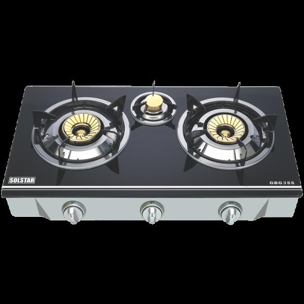 table de cuisson a gaz solstar 3 feux petit prix sur. Black Bedroom Furniture Sets. Home Design Ideas