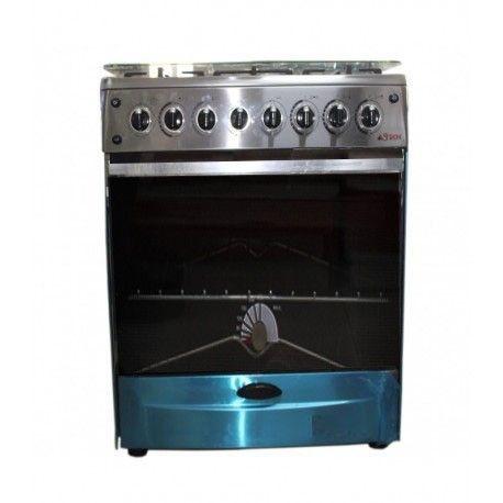 cuisini re 5 feux astech en acier inoxydable pas cher. Black Bedroom Furniture Sets. Home Design Ideas