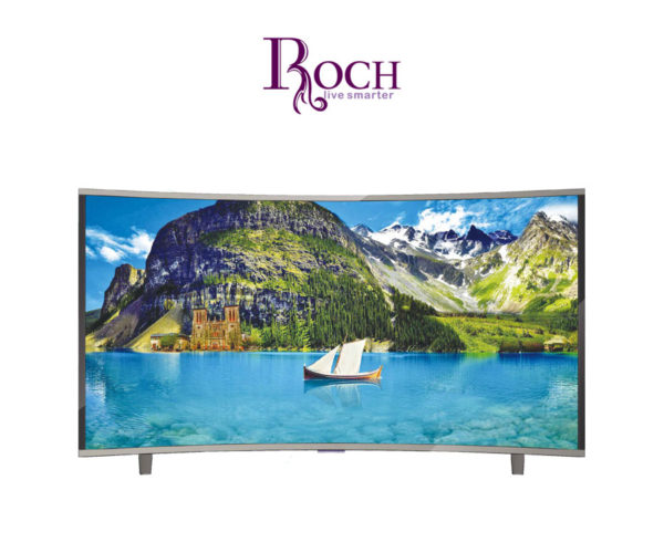 t l vision roch ecran incurv 32 80cm led tv avec tnt int gr. Black Bedroom Furniture Sets. Home Design Ideas