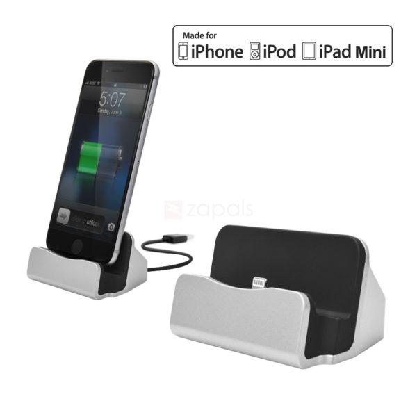 station de recharge et de synchronisation pour iphone ipad. Black Bedroom Furniture Sets. Home Design Ideas