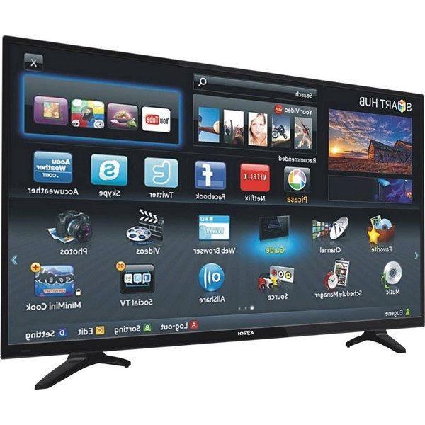 t l vision astech 55 pouces tv led smart tv petit prix sur. Black Bedroom Furniture Sets. Home Design Ideas