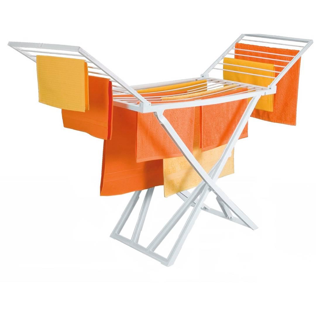 achetez ce s che linge pliable en plastique tr s resistant. Black Bedroom Furniture Sets. Home Design Ideas