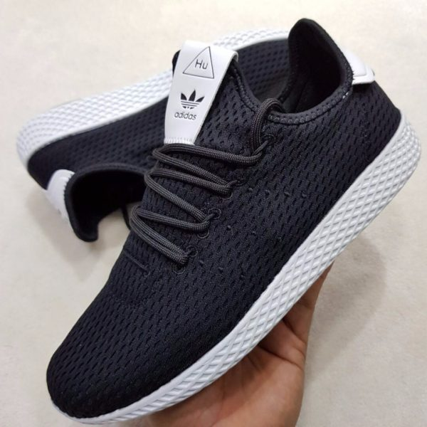 size 40 f81bd 10888 Adidas Pharrell Williams noir blanc Authentique à petit prix