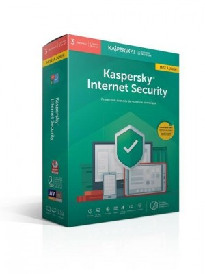 Kaspersky Antivirus Internet Security Protection 3 postes